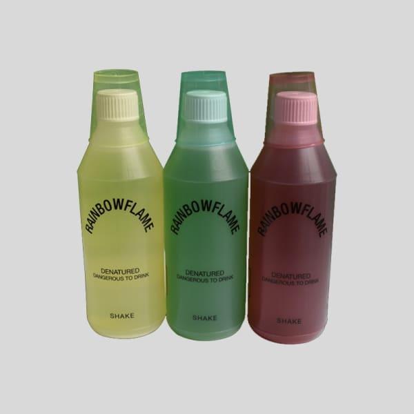 Regenboogvlammen navulling 6 flessen