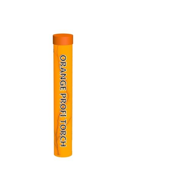 Bengaalse vuur fakkel oranje
