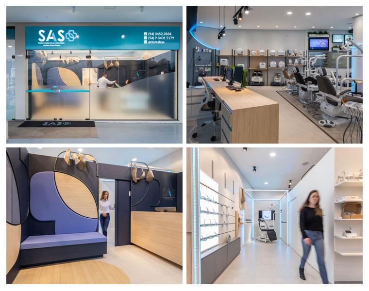 FAV assina showroom da loja SAS