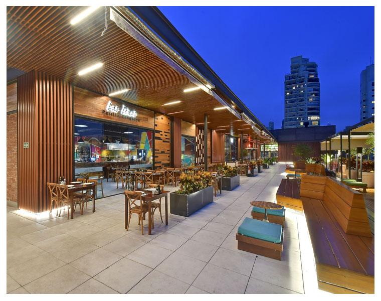 L35 Arquitetura no rooftop de shopping