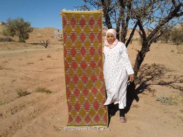 Zerbya  Red, Yellow Morocco