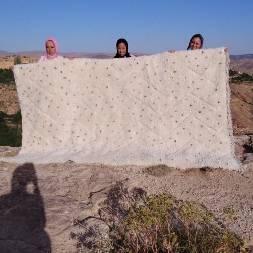 Beni Ourain  Purple, Pink Morocco