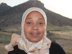 Sadia Bakhalk from Souq El Hed, Morocco