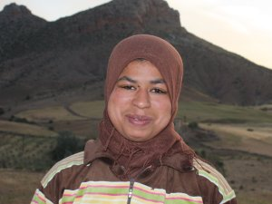 Fatima Hajou  from Souq El Hed, Morocco