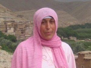 Malika Hdoudi from Imelghas, Morocco
