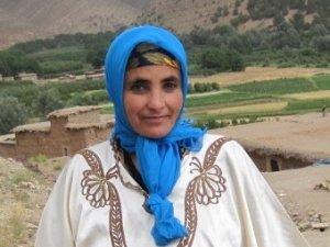 Fatima Ahknini from Imelghas, Morocco
