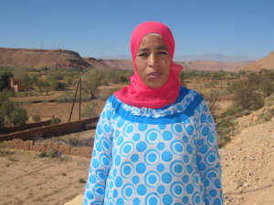 Khadija Chana from Ouarzazate, Morocco