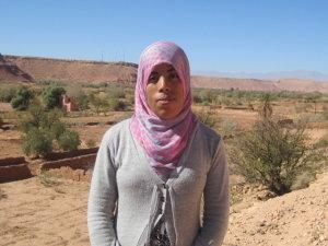 Fatima Alibrahimi from Ouarzazate, Morocco