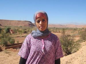 Fatima Anasiri from Ouarzazate, Morocco