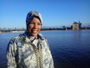 Sakina Akroum from  Marrakech, Morocco