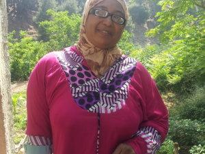 Khadija Ouchkak from Ain Leuh, Morocco