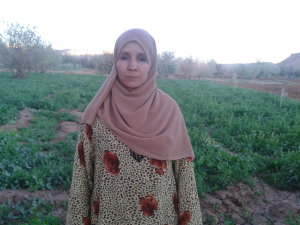 Fatima Ben Hssayene from Ouarzazate, Morocco
