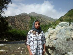 Fatiha Ait Ougadir from Ourika, Morocco