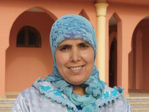 Saadia Oukas from Khenifra, Morocco