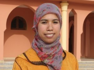 Malika Amrou from Khenifra, Morocco