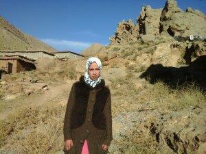 Sana Mouzoun from Ait Bouguemez, Morocco