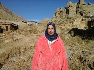 Fatima Oulkadi from Ait Bouguemez, Morocco