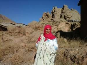 Fatima hamid from Ait Bouguemez, Morocco