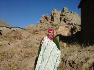 Fatima imghran from Ait Bouguemez, Morocco