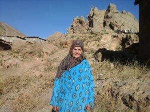 Touda alhsni from Ait Bouguemez, Morocco