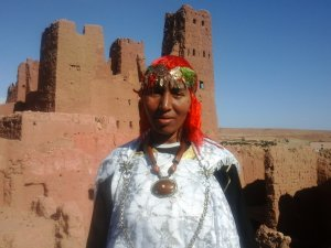 Mena Adad from Ouarzazate, Morocco