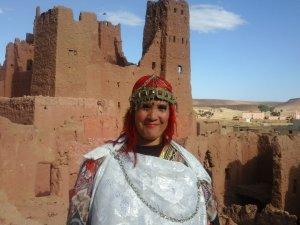 Fatima Mtous i from Ouarzazate, Morocco