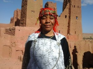 Aicha Qayyou from Ouarzazate, Morocco