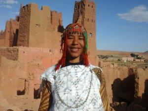 Rqia Brka from Ouarzazate, Morocco