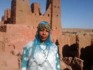 Amina Khadis from Ouarzazate, Morocco