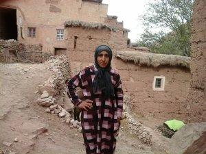 Hakout Kaltoum from Ait Bouguemez, Morocco