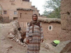 Naima Ait Atalb  from Ait Bouguemez, Morocco