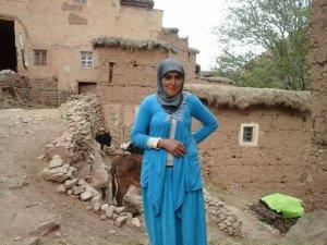 Naima Khat from Ait Bouguemez, Morocco