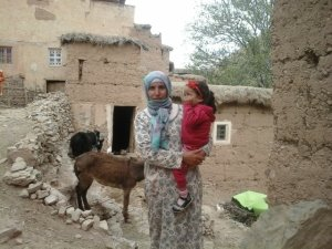 Al Waseh Fatima  from Ait Bouguemez, Morocco
