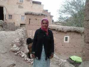Naima Anahw from Ait Bouguemez, Morocco