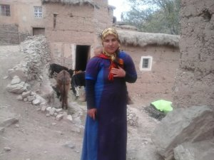 Halima Noar  from Ait Bouguemez, Morocco