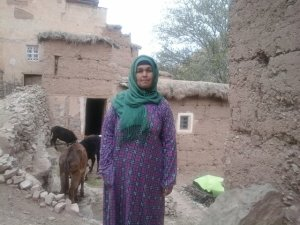 Touda Berkan  from Ait Bouguemez, Morocco