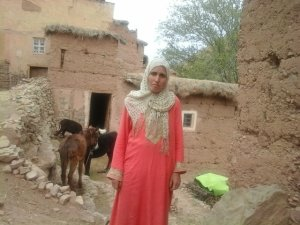 Khat Fatima from Ait Bouguemez, Morocco