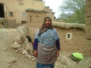 Fatima Meymoun  from Ait Bouguemez, Morocco