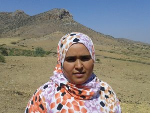 Zolikha laytoun from Souq El Hed, Morocco