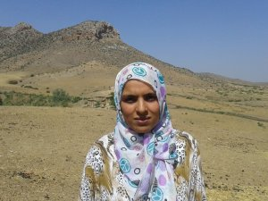 Fatima bokbir from Souq El Hed, Morocco