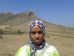 Hafida Caouai from Souq El Hed, Morocco