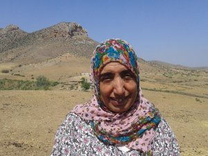 Malikah Tahari  from Souq El Hed, Morocco