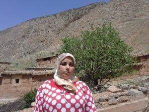 Hafida Ait Ydir from Ait Bouguemez, Morocco
