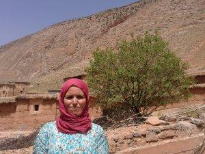 Fatima Wakriaa from Ait Bouguemez, Morocco