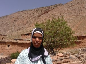 Aala Aaicha from Ait Bouguemez, Morocco