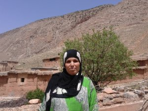Touda Alaatawi from Ait Bouguemez, Morocco