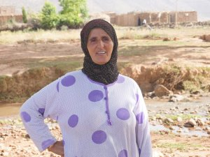 Aicha Lhaimer from Ait Hamza, Morocco