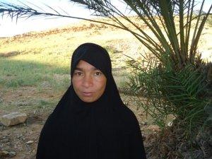 Fatima Bayba from Goulmima, Morocco