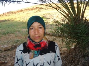 Hasna Zin from Goulmima, Morocco