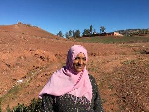 Naima Achaq from Khenifra, Morocco